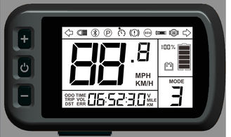 Portable Smart Dashboard WP-100 makes the electric bike intelligent